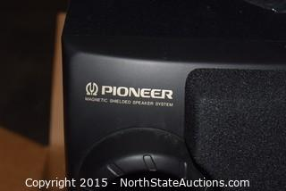 Set of Pioneer Speakers