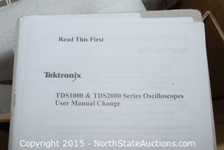 Tektronix TDS1002 Two Channel Digital Storage Oscilloscope