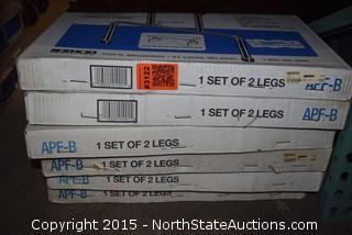 Lot of Folding Table Legs