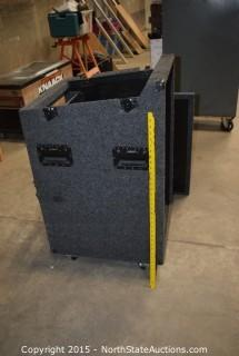 Equipment Case with Equipment
