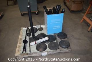 Lot of Misc Microphone Stand Parts