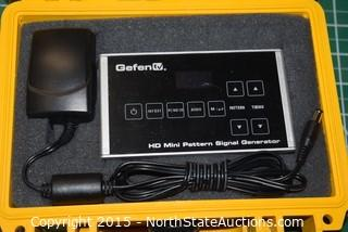 Gefen HD Mini Pattern Dignal Generator in Pelican 1120 Case