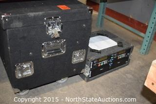Equipment Cases with Equipment