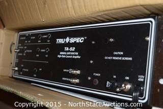 Tru Spec TA-52 High-Gain Launch Amplifier