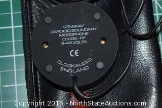 Lot of Clockaudio Stingray Cardioid Boundary Microphones