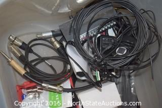 Lot of Misc Cords and More