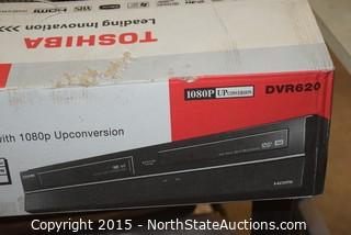 Toshiba DVD and VHS Recorder