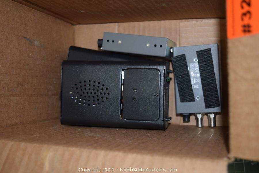 Audio and Visual Equipment Auction