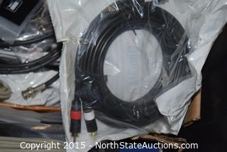 Lot of Misc Cables and More
