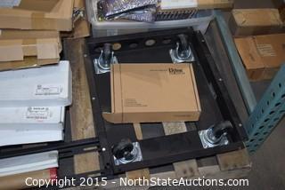 Lot of Equipment Case Racking