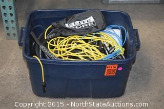 Lot of Misc Equipment Cables and More