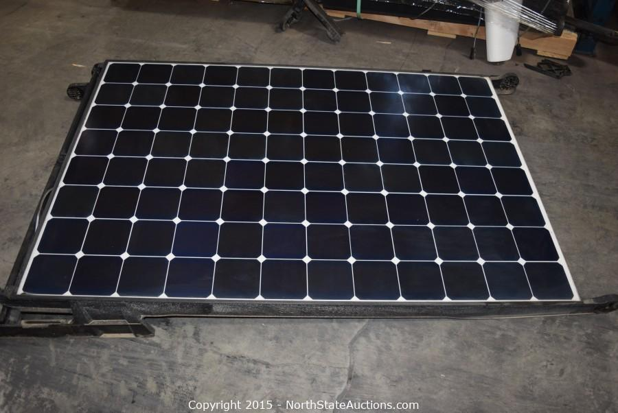Ontario Solar Panels Auction