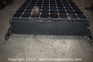 Lot of SUNPOWER Solar Panels (10)