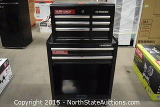 HUSKY Rolling Tool Box with Tools Chest