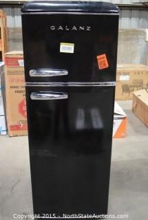 GALANZ Refrigerator (Black)