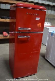 GALANZ Refrigerator (RED)