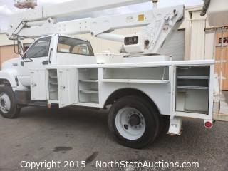 1995 GMC TOP KICK boom lift truck **2854 ORIGINAL MILES**