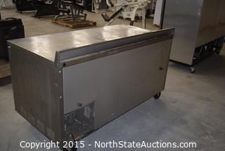 True Commercial Refrigerator with Countertop