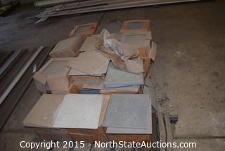 Lot of Assorted Tile (1+)