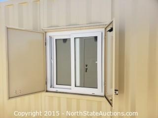 Pre Manufactured Container House/ Office with Engineering Plans $39,995.00