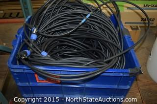Lot of Audio/Visual Equipment Cable