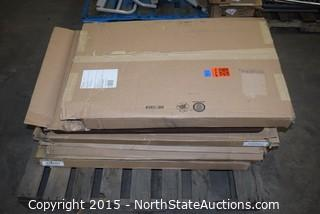 Lot of Hospital Bed Head and Foot Boards
