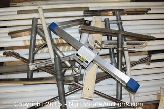 Lot of Misc (Metal Poles)
