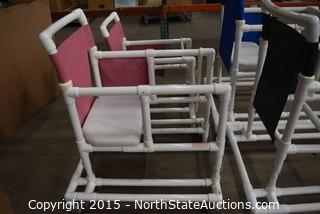 Lot of Shower Chairs