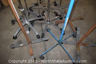 Lot of IV Stands