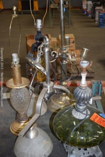 Lot of Lamps