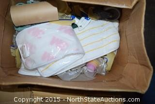 Lot of Misc Bathroom and Cleaning  Supplies