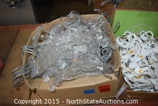 Lot of Commercial Hangers