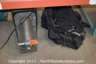 Bug Zapper and Backpack