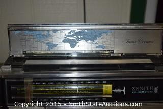 Vintage Zenith National Weather Service Band