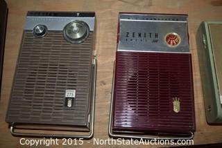 Lot of Vintage Handheld Radios