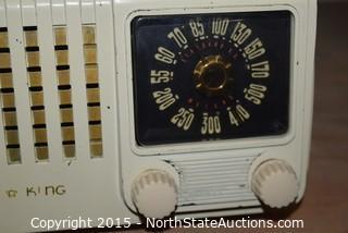 Vintage Air King Radio