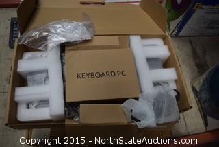 Lot of Computer Keyboards