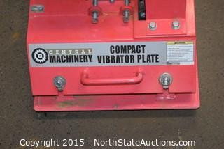 Central Machinery Compact Vibrator Plate