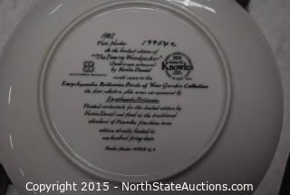 Lot of Kevin Daniel Collector Plates