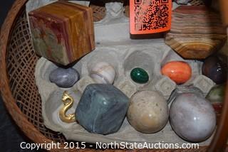 Lot of Decorative Rocks