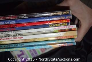Lot of Playboy Magazines