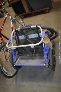 Schwinn Frontier Bike with Burley Trailer