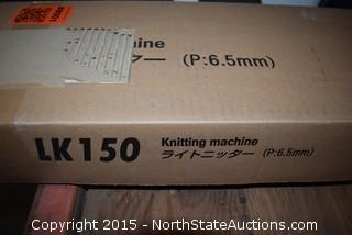 Silver Reed LK150 Knitting Machine