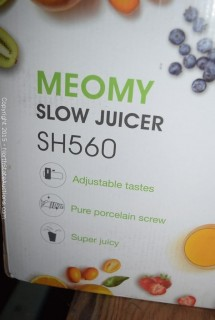 Meomy Slow Juicer
