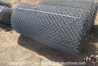 Roll of Chain Link Fence
