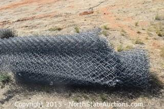 Lot of Chain Link Fence