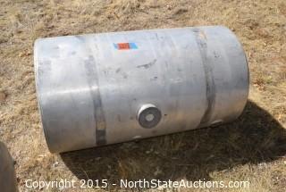 Aluminum Semi Truck Fuel Tank
