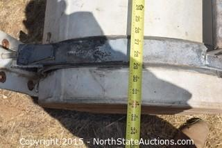 Aluminum Diesel Truck Fuel Tank with Steps