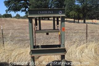 Carolina Press Frame (Only)
