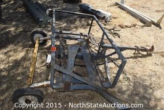 Small Utility Trailer (PARTS ONLY)
